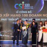 [TCBC] SASCO đạt Top 10 Doanh nghiệp Phát triển Bền vững Việt Nam 2016
