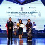 SASCO vinh danh TOP 10 doanh nghiệp bền vững khối thương mại dịch vụ