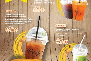 [+84 Cafe] Combo Cafe-Plex