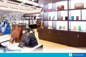 SHOP LEATHER & FASHION ACCESSORIES AT SASCO SHOP  Don't forget to visit SASCO Shop before your flight and shop for your favorite leather stuff and fashion accessories that will definitely make your trip even more exciting!