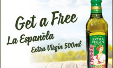 [SASCO SHOP] GIFTING PREMIUM OLIVE OIL TO CELEBRATE NEW SHOP OPENING