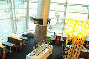 Enjoy privacy separate from the hustle of the airport at SASCO Rose Lounge, International terminal, Tan Son Nhat airport.