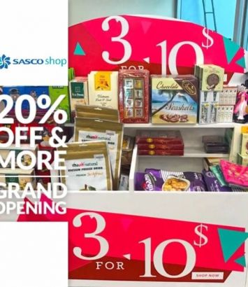 DISCOUNT 20% AND MORE - NEW SASCO SHOP GRAND OPENING…