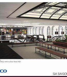 SASCO đề xuất mở phố ẩm thực trong Ga Sài Gòn