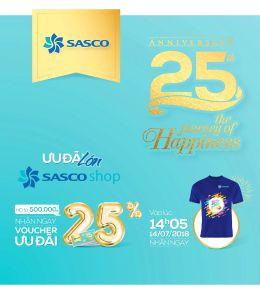 Mừng sinh nhật, SASCO ưu đãi hấp dẫn nhất trong năm