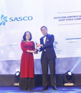 SASCO đạt giải thưởng Nơi làm việc tốt nhất Châu Á 2018