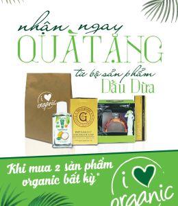 I love Organic – Tôi yêu sản phẩm hữu cơ