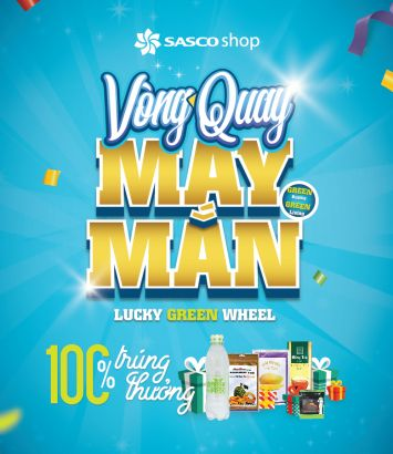 LUCKY GREEN WHEEL - NEW PROMOTION OF SASCO SHOP