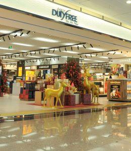 在新山一国际机场体验最大的免税店