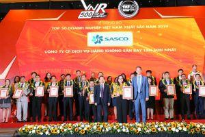 SASCO tiếp tục vào Top 50 Doanh nghiệp xuất sắc nhất Việt Nam năm 2019