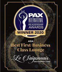 Le Saigonnais lounge Tân Sơn Nhất vinh dự được bình chọn  Phòng chờ thương gia tốt nhất Châu Á